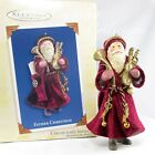 2005 Hallmark Father Christmas Keepsake Ornament Second in Series Music Red 2nd