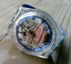 Swatch  Skeleton  clear Watch plastic band 9