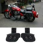 US Motorcycle Saddle Side Bags For Honda VTX 1300 1800 TYPE C R S N F T RETRO
