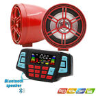 Motorcycle Bluetooth,Handfree,Audio System,FM Radio Stereo,Amplifier Speaker US