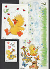 Suzy Zoo Border Stickers Witzy w Ladybugs Patches Boof Clouds Grass Hugging