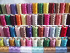 Sewing Thread Art Silk for embroidery Assorted Colors gitti Lot Of 100 Spools