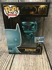 FUNKO POP SDCC 2019 Official Sticker Batman TEAL CHROME (144) Exclusive IN HAND