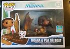 FUNKO POP RIDES DISNEY MOANA & PUA ON BOAT 62 SDCC SHARED EXCLUSIVE