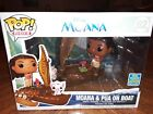FUNKO POP RIDES DISNEY MOANA & PUA ON BOAT 62 EXCLUSIVE LIMITED EDITION