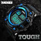 Mens SKMEI LED Date Watch Sport Quartz Analog Waterproof Military Wristwatches