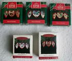 HALLMARK KEEPSAKE ORNAMENTS 1990 - 94 HEART OF CHRISTMAS COMPLETE SERIES OF 5