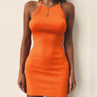 Women's Bandage Bodycon Sleeveless Evening Party Cocktail Club Short Mini Dress