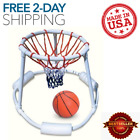Swimline Super Hoops Floating Swimming Pool Basketball Game with Ball  9162