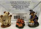 Boyds Bearly-Built Village Punky Boobear's Haunted Halloween House Accessories