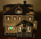 1999 Lemax Jukebox Junction Village Collection Porcelain Lighted House #95344
