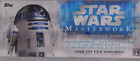 2017 Topps Star Wars Masterwork Factory Sealed Box - 20 Cards 4 Hits per Box