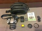 Canon EOS Rebel XT 350D 80 mp Digital Camera w 18 55mm AF Canon Lens and more