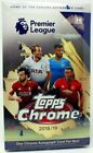 2018 19 TOPPS CHROME PREMIER LEAGUE SOCCER HOBBY Box AUTOGRAPH