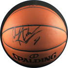 Dennis Rodman autographed signed basketball Chicago Bulls PSA COA HOF The Worm