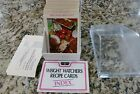 VTG 1976 Weight Watchers International Recipe Cards Index with Box Most Sealed