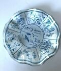Collectible Vtg  Bahama Islands Souvenir Glass Tray Jewelry or Ashtray Dish