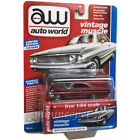 AUTOWORLD AW64222 1964 FORD GALAXIE 500 1/64 CP7599 RED A Chase