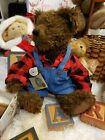 BOYDS BEARS GARY M BEARANTHAL 20th ANNIVERSARY LTD EDITION 1990 jointed beanie
