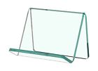 Business Card Gift Card Green Edge Glass Single Pocket Display Holder Qty 52