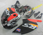 For Aprilia RS125 01 02 03 04 05 RS 125 Black Red Aftermarket Sportbike Fairings