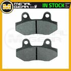 Organic Brake Pads Front L for HYOSUNG RX 125 D Enduro 2007