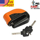 Brake Disc Secrity Alarm Lock For Harley Davidson Softail Fat Boy FLSTF Custom