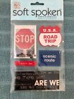 Me  My Big Ideas Soft Spoken Embellishment Stickers Road Trip Scrapbooking