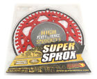 New Supersprox Red Aluminum Sprocket, 49T, Chain Size, Husqvarna SM510, SM510R