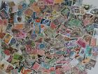 Lot of 200 Assorted Worldwide Stamps All Different Used Off Paper Older Stamps