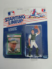 1989 MLB Baseball Starting Lineup Terry Steinbach Oakland A's Rookie Card Jersey