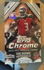 2015 TOPPS CHROME FOOTBALL HOBBY BOX FACT SEALD
