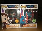 Funko Pop Guardians Of The Galaxy Vol 2 Eccc Yondu And Chase Starlord