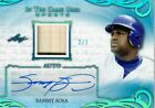 SAMMY SOSA 2019 LEAF ITG In The Game Used Auto Jersey Relic #2 7 CUBS