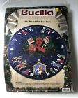 1991 Bucilla 43 Round Felt Tree Skirt NATIVITY NEW