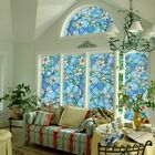 Static Cling Stained Glass Film Window Privacy Sticker Home Office Good US