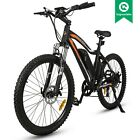 NEW LEOPARD 26 500W Black Electric Bicycle Lithium City Eco bike moped