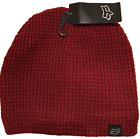 Fox Racing VACATION BEANIE Dark Red One Size Fleece Lined Women's New with Tag