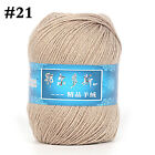 50gball Worsted Cashmere Wool Yarn Hand Knitting Crochet For Sweater Scarf Hat