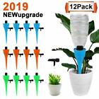 12 Packs Plant Waterer Self Watering Spikes Devices with Slow Release Control