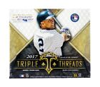 BOX 2017 Topps Triple Threads Baseball Hobby Box FACTORY SEALED Find Auto Rc