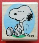 Snoopy Rubber Stamp Stampabilities C1046 Peanuts Sitting