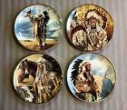 Collectors Plate Lot Native American Prayer to the Great Spirit The Lovers