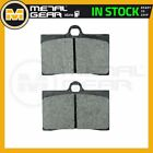 Organic Brake Pads Front L or R for MOTO GUZZI 750 V7 Ippogrifo 1997