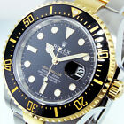 ROLEX 126603 SEA-DWELLER 43 mm STEEL 18K YELLOW GOLD BLACK CERAMIC BEZEL 126603