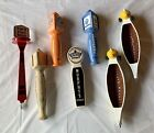 beer tap handle lot Of 7 Seven New Keg Collectible Bar Blue Moon Murphy's Rare