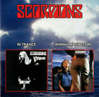Scorpions -- In Trance - Animal Magnetism - 2 Albums - 1 CD - Rare OOP CD!!!