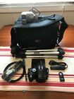 Nikon D5100 162MP Digital SLR Camera Body Black w extras 11K clicks