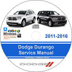 Dodge Durango 2011 2012 2013 2014 2015 2016 Factory Service Repair Manual