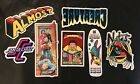 Lot Of 7 Skateboard Stickers All Original From Blind H St Etc Not From China